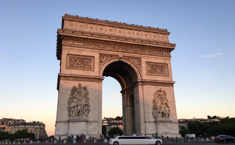 初めてのパリ。初めてのヨーロッパ旅行