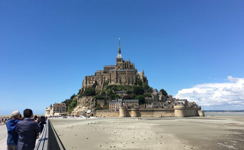 モンサンミッシェルへ!パリから日帰りツアーで行ってきました