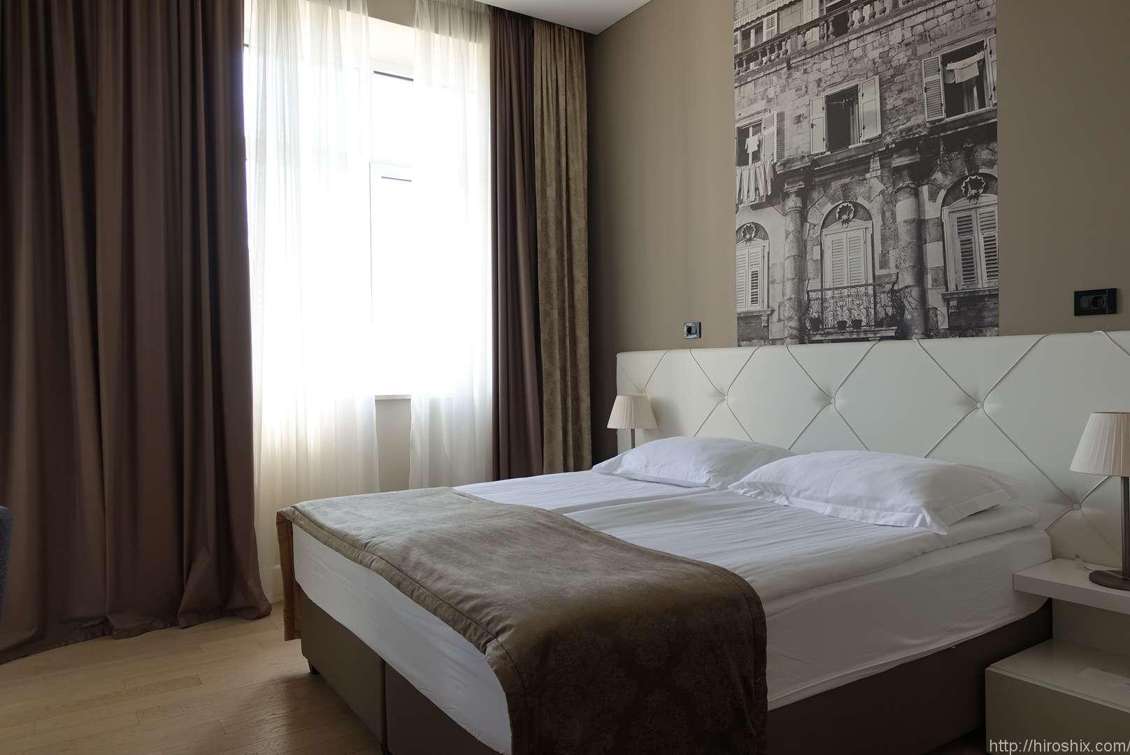 クロアチア・スプリットでコルナロホテルに宿泊!