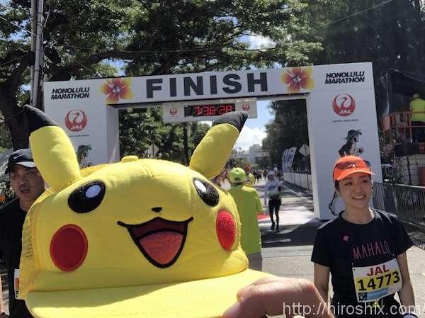 ホノルルマラソン2018に参加。7時間以上かけて歩いて完走!【ハワイ】