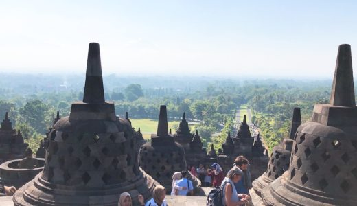 【世界遺産】ボロブドゥール寺院遺跡現地ツアー。英語できなくてもOK【ジャワ島・ジョグジャカルタ・インドネシア】