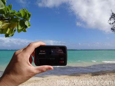 ハワイでグローバルWI-FIの端末が大活躍した件