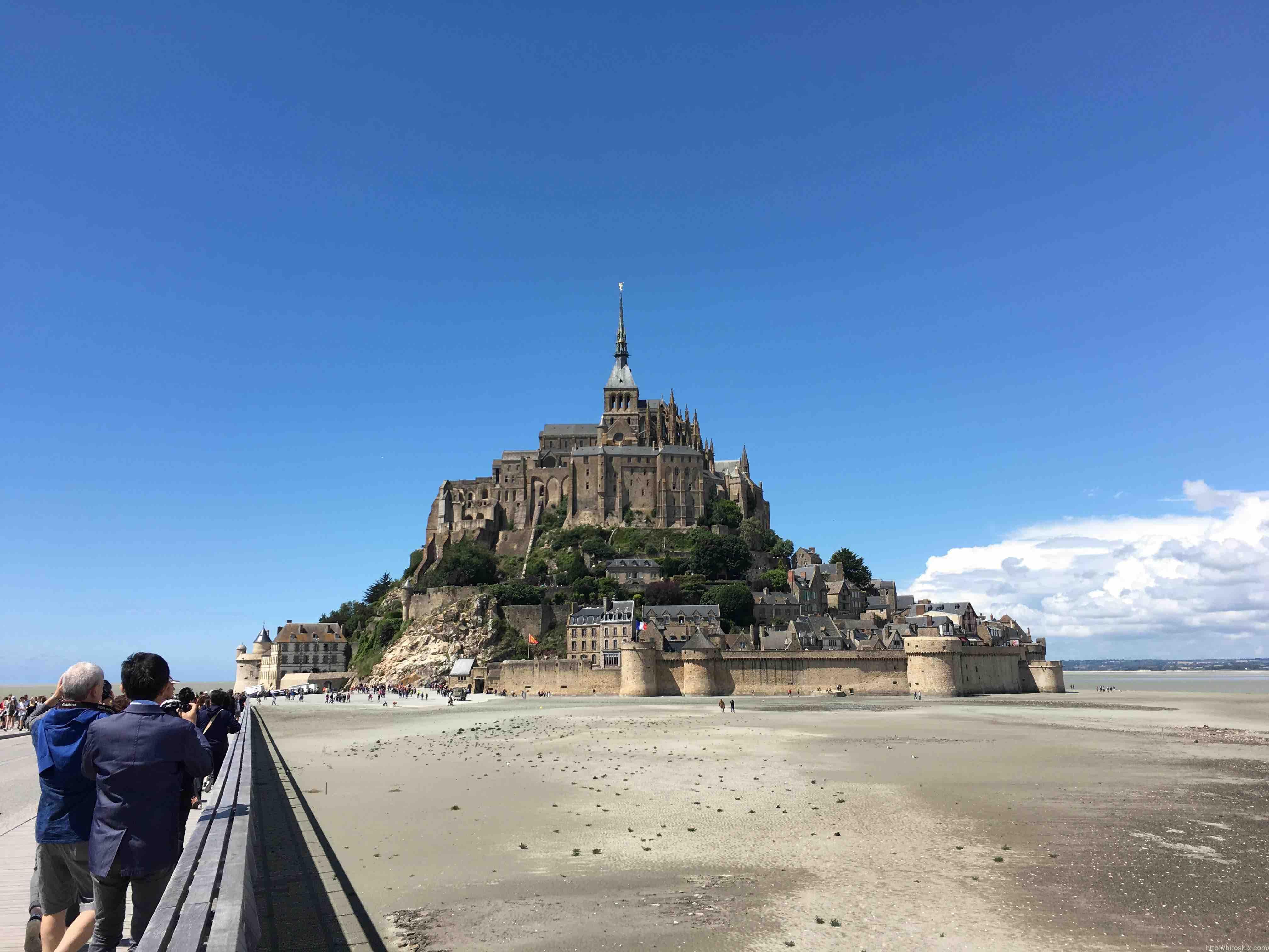 モンサンミッシェルへ!パリから日帰りツアーで行ってきました!【フランス旅行2016】