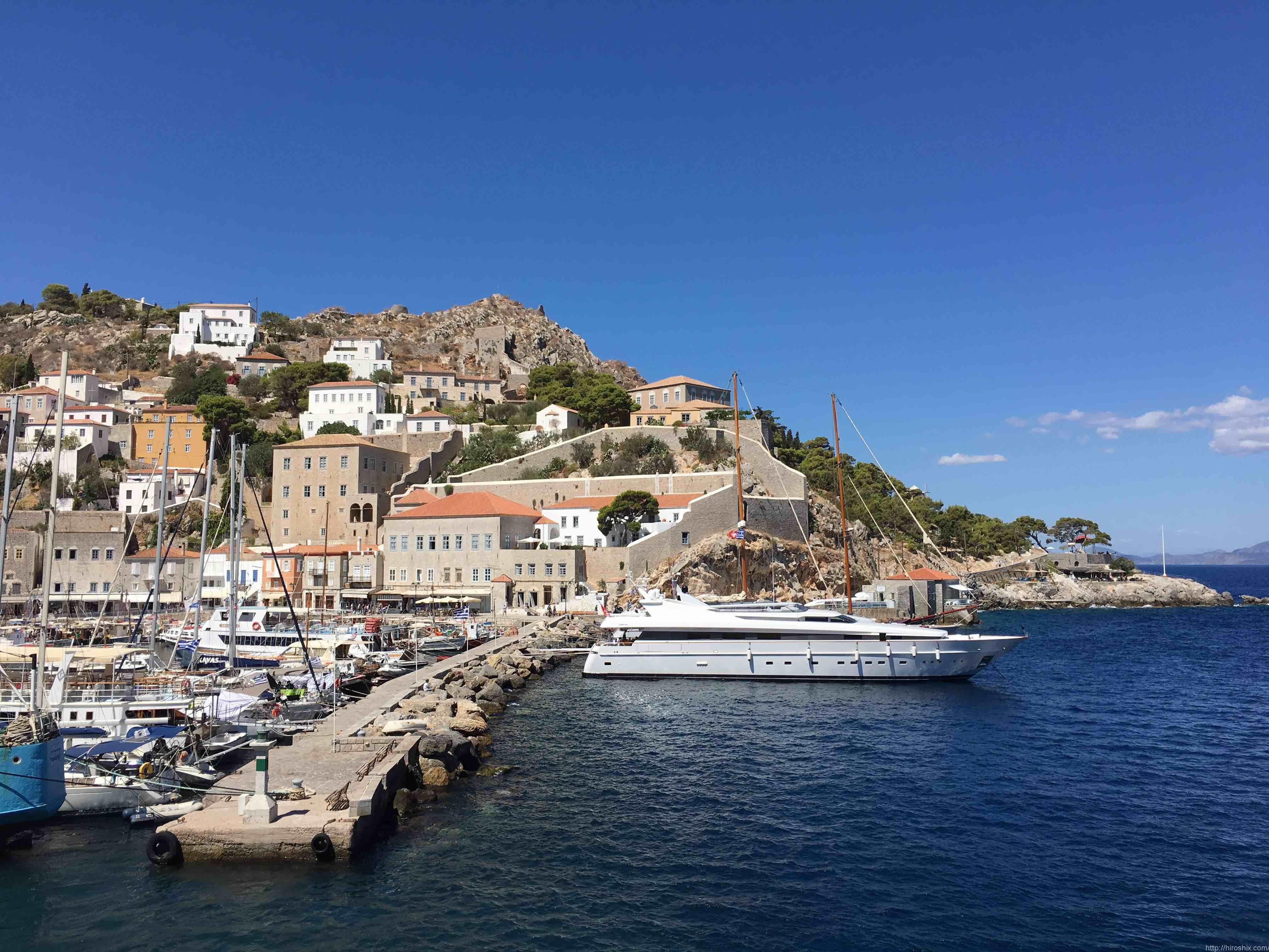 エーゲ海1日ミニクルーズ〜イドラ島・ポロス島・エギナ島巡り【ギリシャ旅行2016】