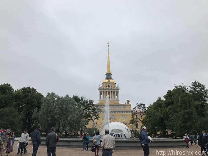 サンクト・ペテルブルグ市内観光ぶらり旅【ロシア旅行2018】