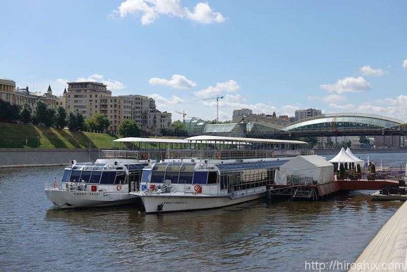 モスクワ川クルーズでゆったり市内観光【ロシア旅行2018】