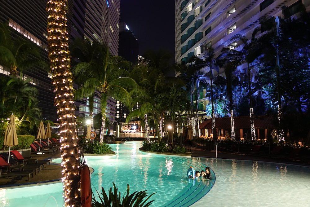ルメリディアン・クアラルンプールホテルに泊まりました!プラチナ会員はバスタブに浸かって夜景も堪能?!【マレーシア・宿泊記】