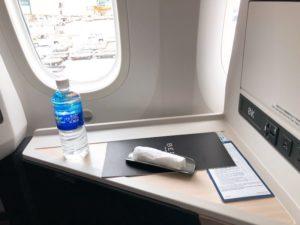JAL国際線ビジネスクラス搭乗記。成田〜ジャカルタ(JL725・JL726)ボーイング787-9BのJAL SKY SUITE Ⅲの乗り心地と機内食【2019年6月】