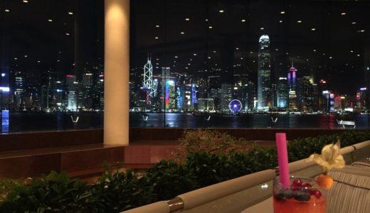 香港のインターコンチネンタルホテルはラウンジからの夜景が最高!【香港旅行2015】